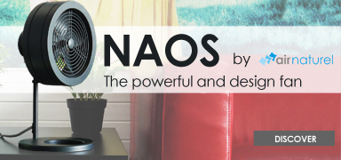 Discover Naos the chic desk fan